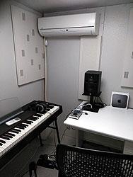 中古ヤマハ防音室「AVITECS」 室内イメージ