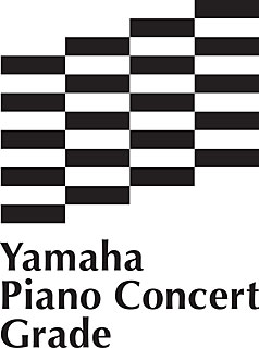 Yamaha Piano Concert Grade